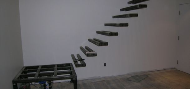 Glass Stair Installation